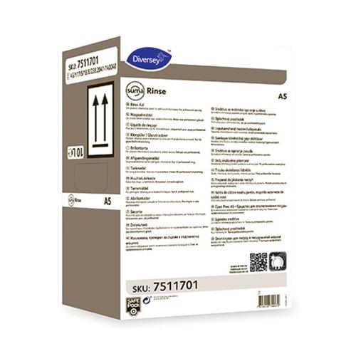 Suma Rinse  A5 SafePack Dish & Glass Rinse Aid 10Ltr