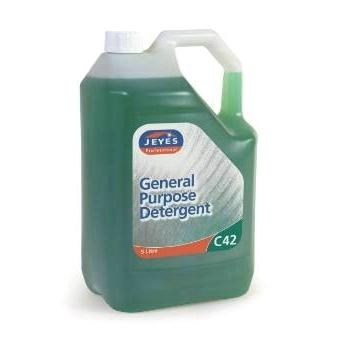 Jeyes C42 Gen Purpose Washing Up Liquid 5Ltr Green