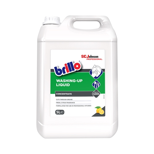 Brillo Professional Washing Up Liquid 5 Ltr