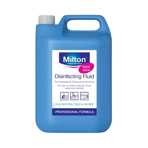 Milton Professional  Disinfecting Liquid 5 Ltr Clear
