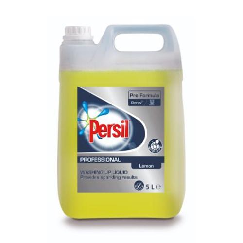 Persil Pro Formula Lemon Fresh Washing Up Liquid 5Ltr Yellow