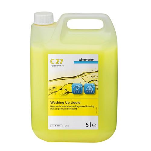 Winterhalter C27 Washing Up Liquid 5Ltr Yellow