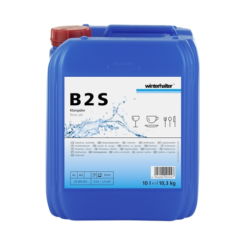 Winterhalter Acidic Rinse Aid 10Ltr