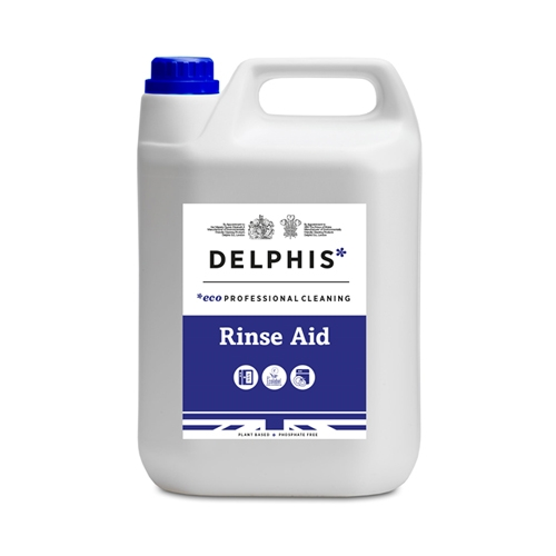 Delphis Eco Glass / Dish Wash Rinse Aid 5 Ltr