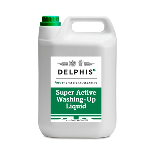 Delphis Eco Super Active Washing Up Liquid 5Ltr