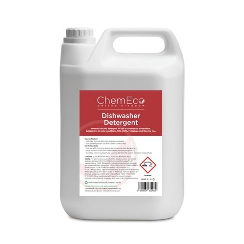 ChemEco Dishwasher Detergent 5Ltr White