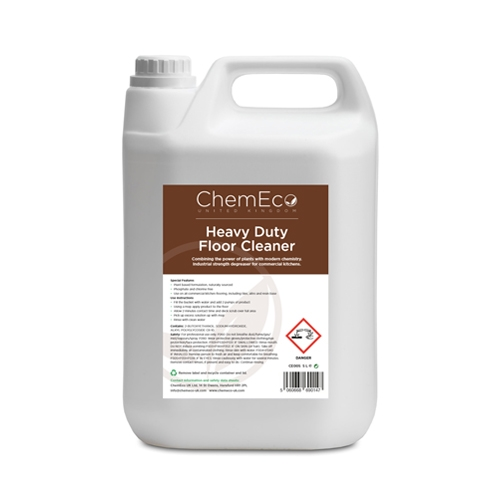 ChemEco Heavy Duty Floor Cleaner 5Ltr White