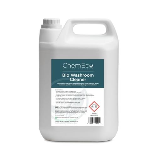 ChemEco Bio Washroom Cleaner 5Ltr White
