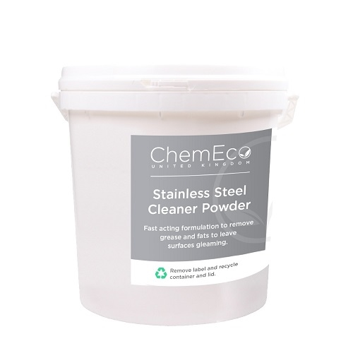 ChemEco Stainless Steel Cleaner Powder 1kg White