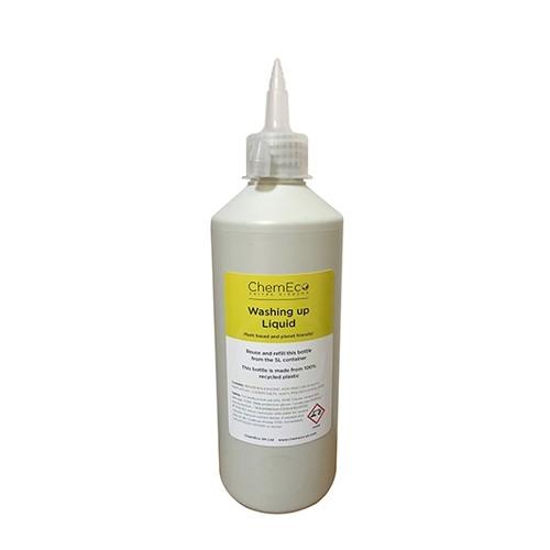 ChemEco Refill Washing Up Bottle w/spout 500ml