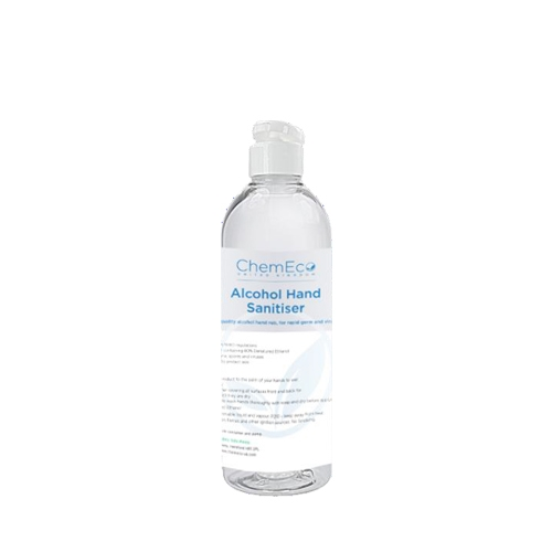 ChemEco 80% Alcohol Hand Sanitiser 500ml