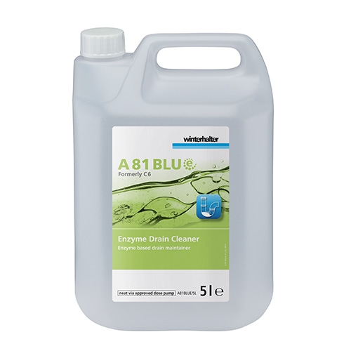Winterhalter BLUe A81 Enzyme Drain Cleaner 5Ltr