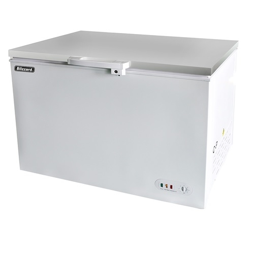 Blizzard Chest Freezer with S/S Lid CF450SS 1270mm 450Ltr White