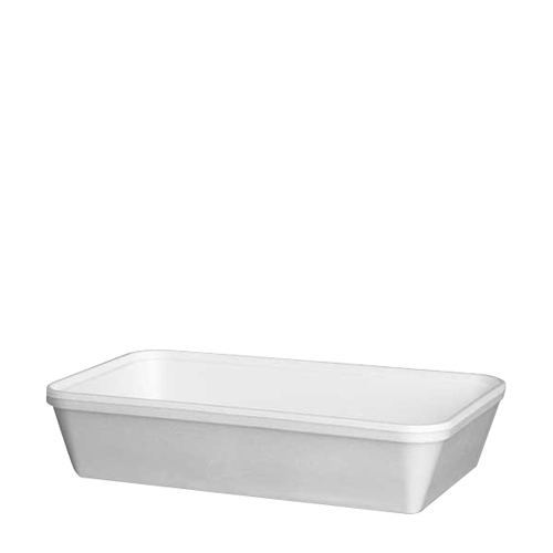 Solo Diner-Pak Food Container 34oz (970ml) White