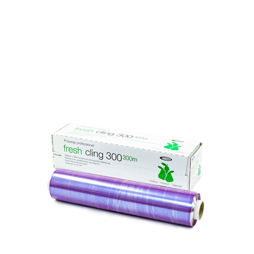 PVC Cling Film Cutterbox 30cm x 300m Clear