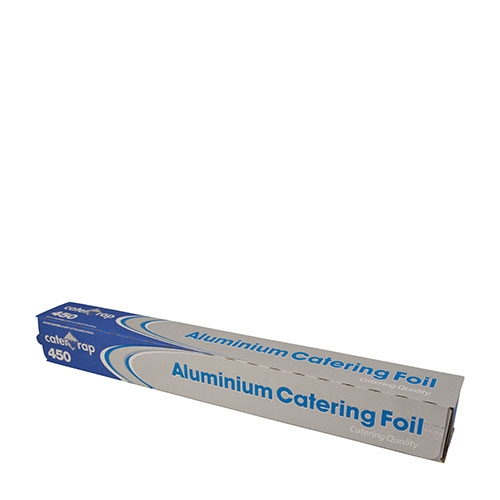 Aluminium Foil Cutterbox 45cm x 90m Silver
