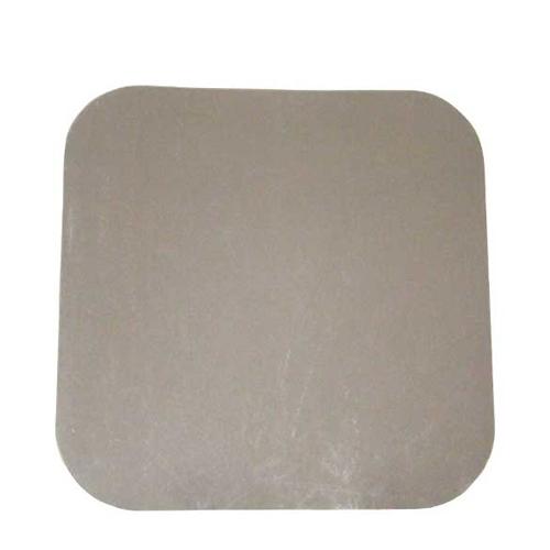 Square  Lid for Foil Container 23.9cm x 23.9cm Silver