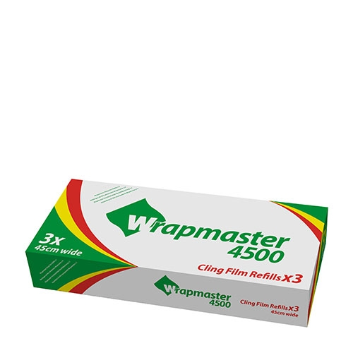 Wrapmaster Refill Cling Film 45cm x 300m Clear