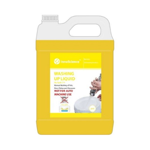 InnuScience Nu-Cycle 7 Washing Up Detergent 5Ltr Yellow