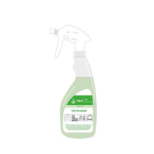 H&H Multi Pack Ready to Use 105 Virocidal Spray 750ml