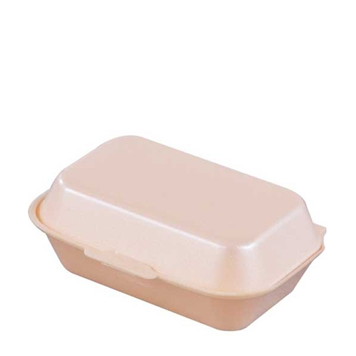 Foam HP4 Food Box 24cm x 20.2cm x 7.4cm Gold