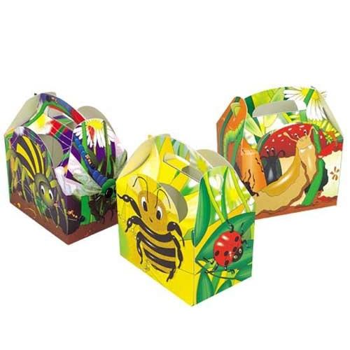 Colpac Bugs n' Slugs  Kids Meal Box 15.2cm x 10.0cm x 10.2cm