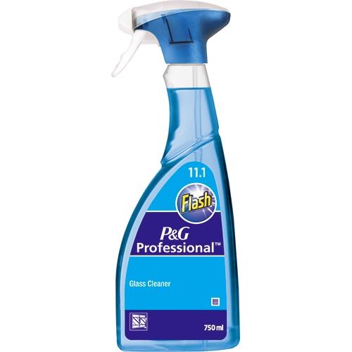 Flash Professional Glass Cleaner Spray 750ml