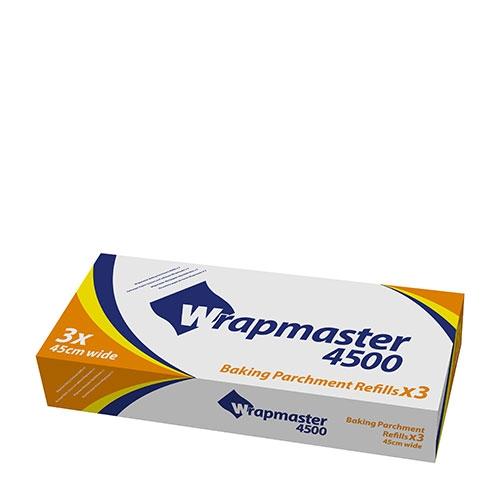 Wrapmaster Refill Baking Parchment 45cm x 50m Opaque