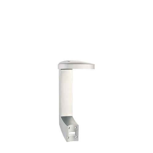 Press + Wash Single Self Adhesive Holder Chrome Matt