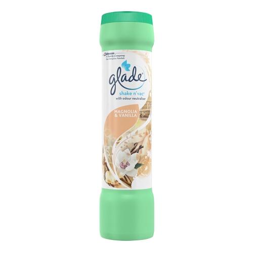 Glade Multi Pack Shake 'n' Vac Magnolia and Vanilla 500g White