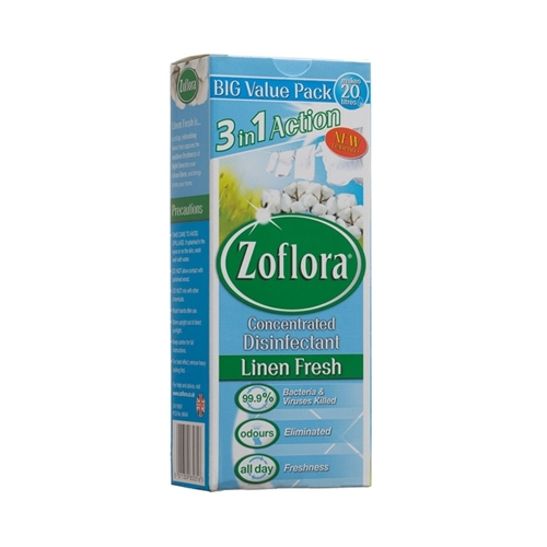 Zoflora Multi Pack Linen Fresh Concentrated Disinfectant 500ml