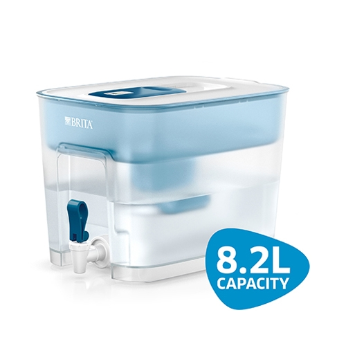 Brita  Flow MxPlus Water Filter 820cl  Clear/Blue