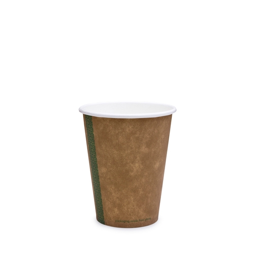 Vegware Kraft  Single Wall Hot Cup 12oz  Brown