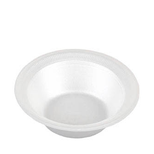 Unlaminated  Foam Bowl 8oz White