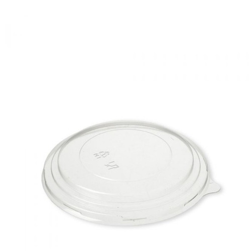 PET Salad Bowl Lid For 1300ml Bowl Clear
