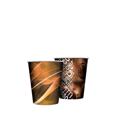 Venezia Squat Paper Cup 7oz Brown