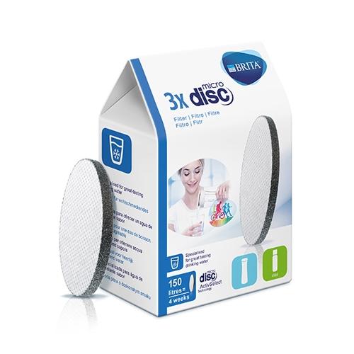 BRITA Microdisc Filters x3 White