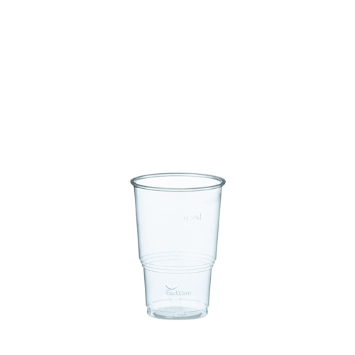 Huhtamaki PLA Bioware Cold Cup 8.75oz  Clear