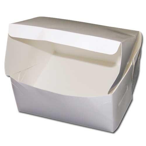 "Folding  Cake Box 12 x 12 x 4"" White"