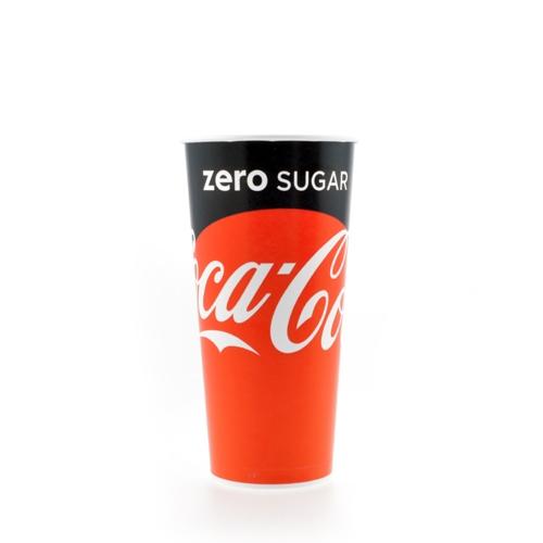 Coke Zero Paper Cup
