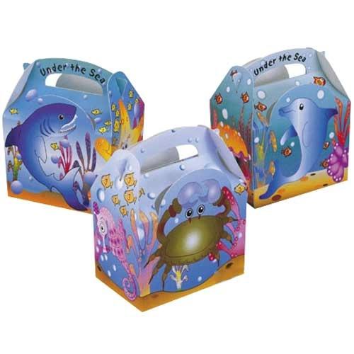 Colpac Under the Sea Kids Meal Box 15.2cm x 10.0cm x 10.2cm