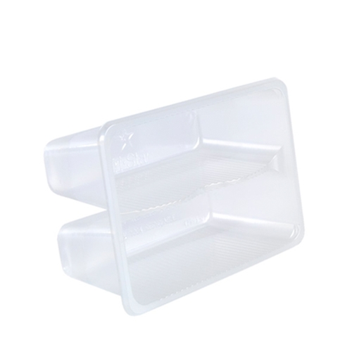 Anson Artisan 2 Double Sandwich Tray 150 x 102mm Clear