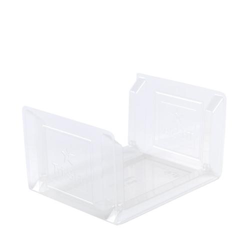 Anson Artisan U  Sandwich Sofa 269 x 100 x 12mm Clear