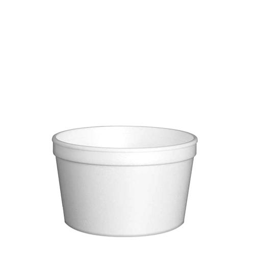 Solo EPS Insul Foam Container 4oz White