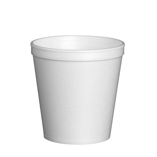 Solo EPS Insul Foam Container 8oz White