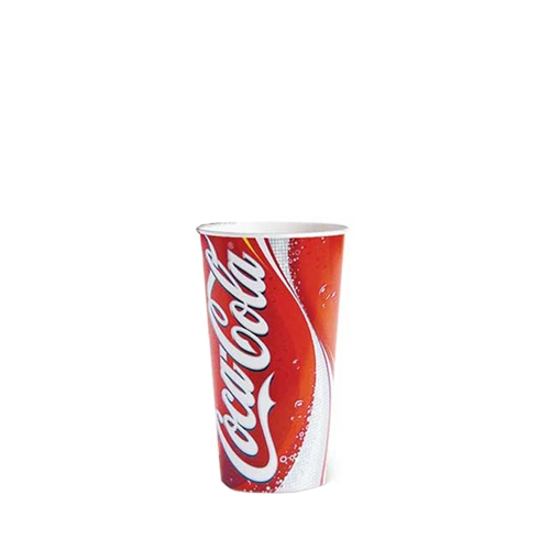 Coca Cola  Cold Cup 9oz Red/White