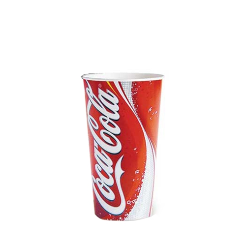 Coca Cola  Cold Cup 12oz Rwed/White