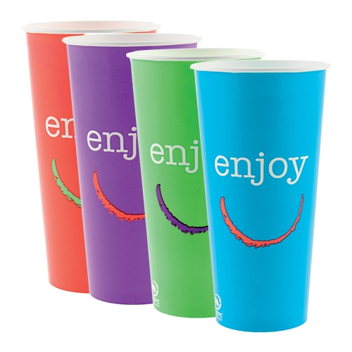 Enjoy Paper Cold Cup