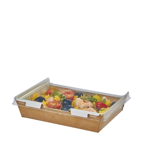 Colpac Combione  Food Container 170 x 127 x 45mm Kraft
