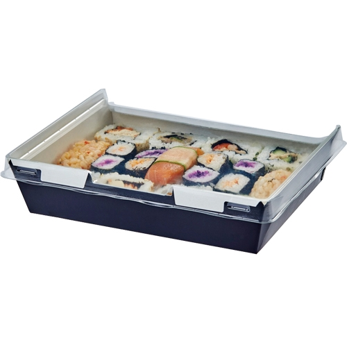 Colpac Combione  Food Container 170 x 127 x 45mm Black